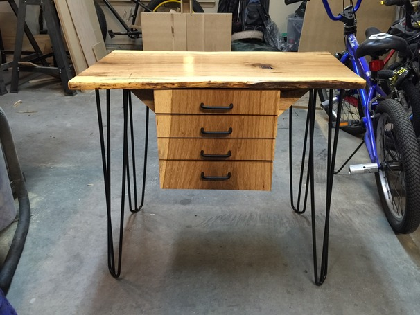 Live Edge Printer Table