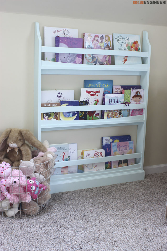 Diy Childrens Bookshelf Plans Rogue Engineer1