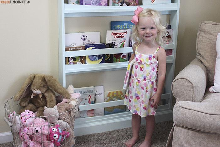 DIY Childrens Bookshelf Plans - Rogue Engineer4