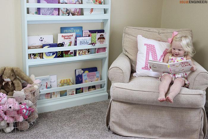 DIY Childrens Bookshelf Plans - Rogue Engineer5