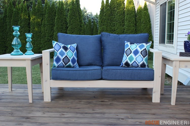 DIY Outdoor Loveseat Plans - Rogue Engineer 1 (1)