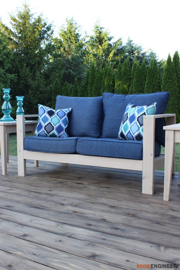 DIY Outdoor Loveseat Plans - Rogue Engineer 3 (1)