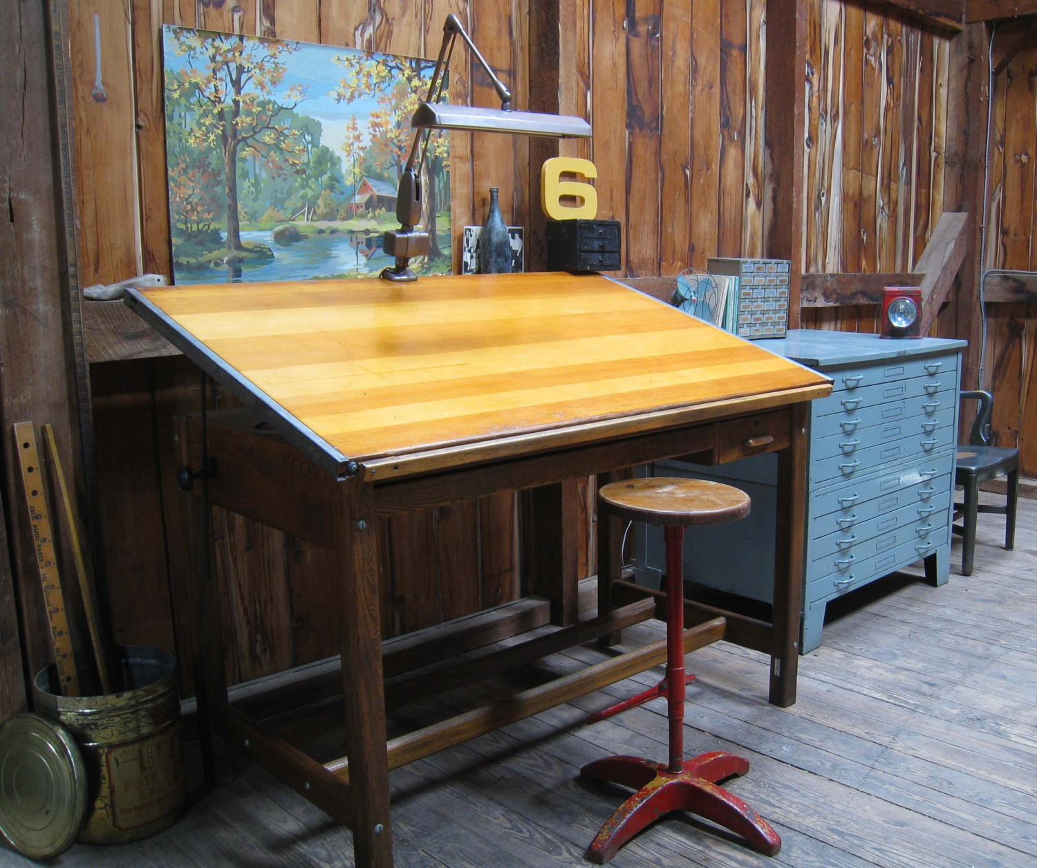 Vintage-Drafting-Table-2