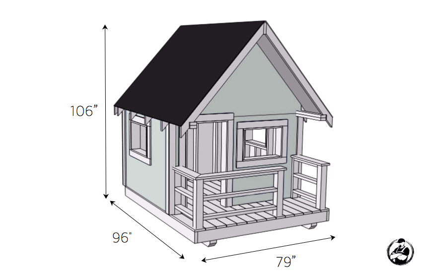 Do It Yourself Home Design: Playhouse » Rogue Engineer