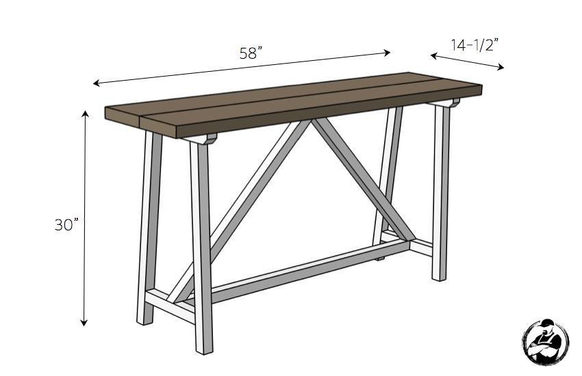 diy-truss-console-table-plans-dimensions