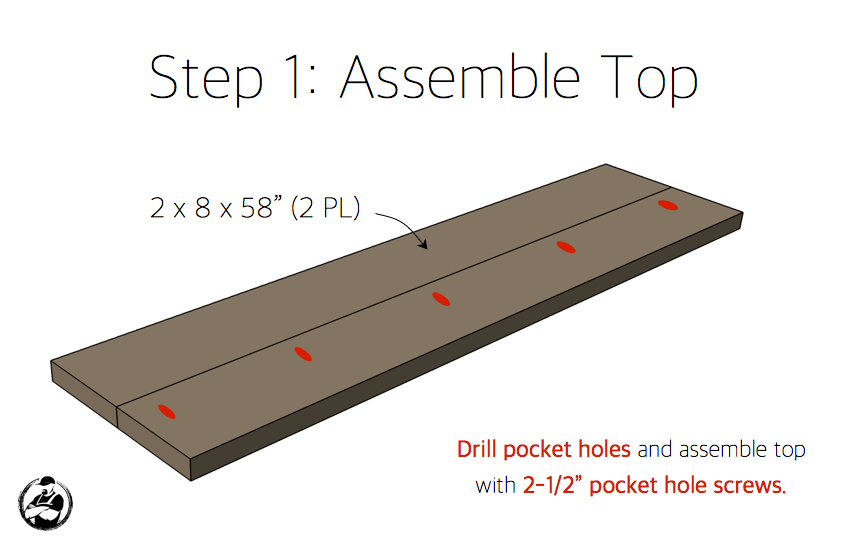 diy-truss-console-table-plans-step-1