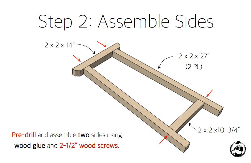 diy-truss-console-table-plans-step-2