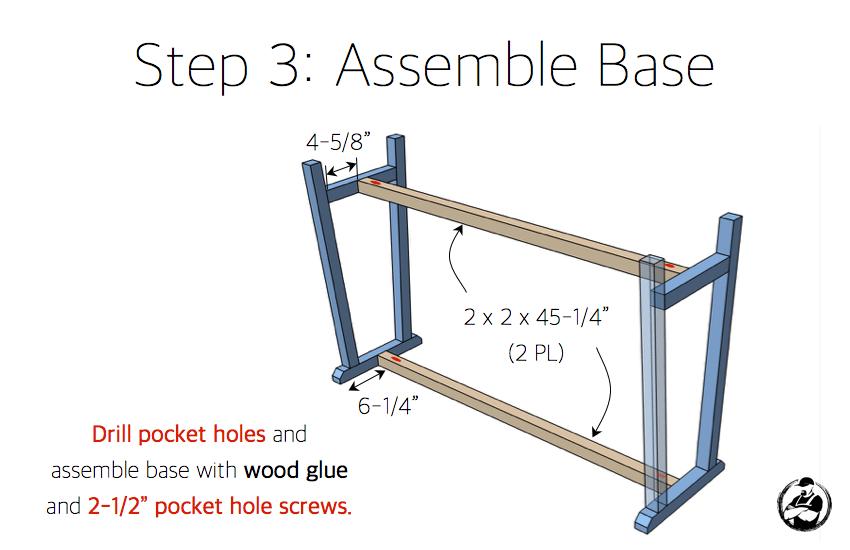 diy-truss-console-table-plans-step-3