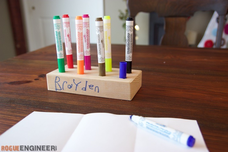 Marker Holder Organizer 187 Rogue Engineer