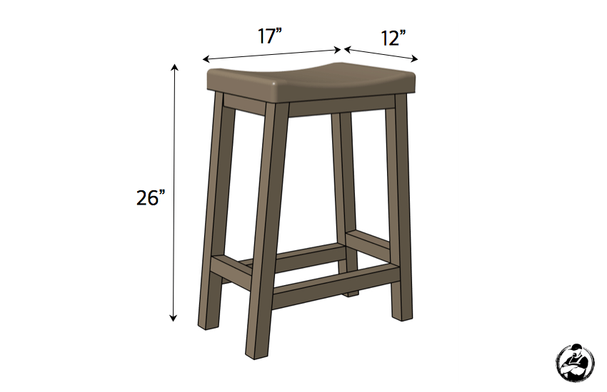 Counter Height Bar Stool Rogue Engineer
