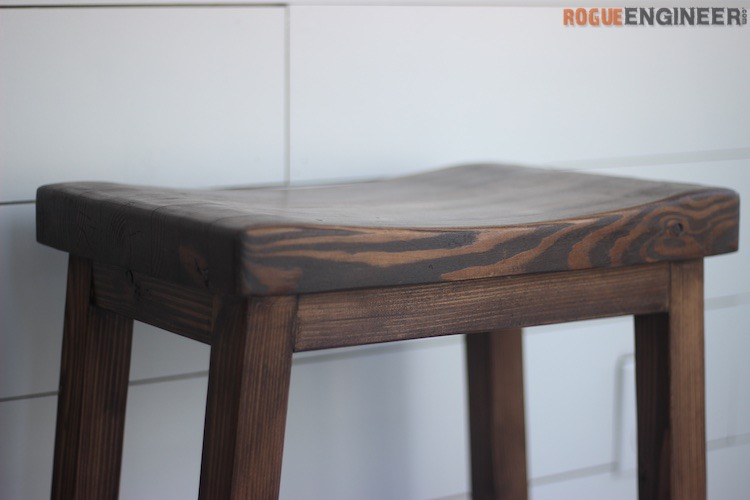 DIY Bar Stool Plans - Rogue Engineer 1