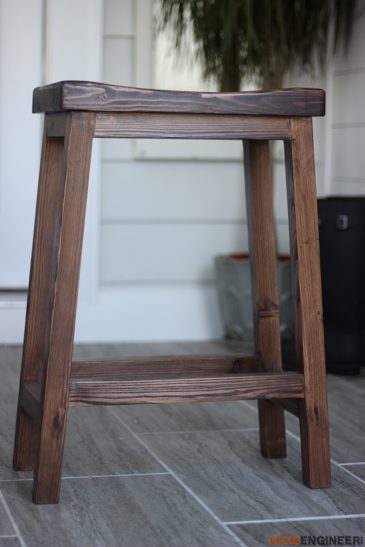 DIY Bar Stool Plans - Rogue Engineer 2