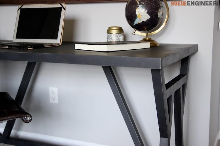 DIY Truss Desk Plans - Rogue Engineer 3