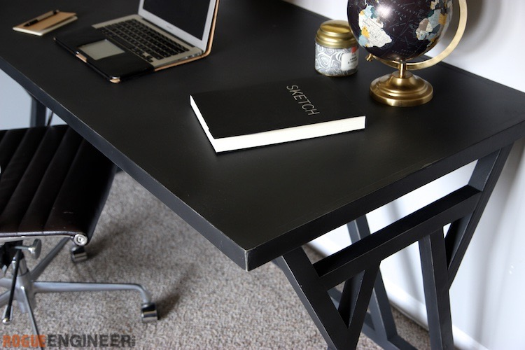 DIY Truss Desk Plans - Rogue Engineer 4