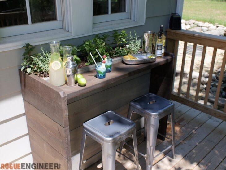 Cocktail Garden Bar Rogue Engineer
