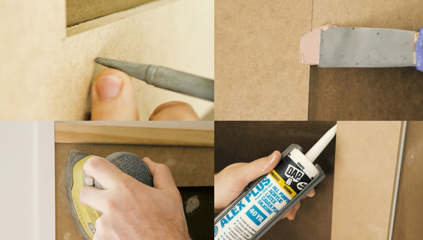 How to install a board and batten wall Finishing
