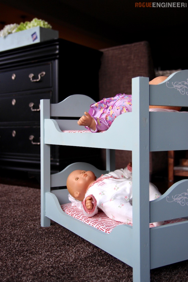 18in Doll Bunk Beds 187 Rogue Engineer
