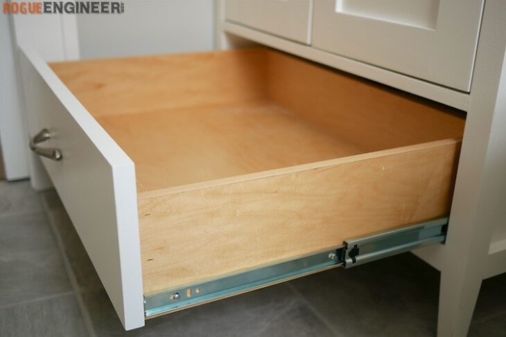 How to Build a Simple Drawer Box | Rogue Engineer Simple Homemade Kitchen Cabinets Plans on kitchen cabinet drawing plans, homemade open shelf cabinet, basic cabinet plans, homemade kitchen cabinate door plans, simple kitchen cabinet plans, homemade kitchen cabinets ideas, mission wood cabinet plans, build your own kitchen cabinet plans, homemade camp kitchen plans, diy kitchen island plans, kitchen cabinet construction plans, homemade kitchen cabinets how toos, kitchen hutch diy plans, kitchen cabinet woodworking plans, unusual corner kitchen cabinets plans, homemade china cabinets,