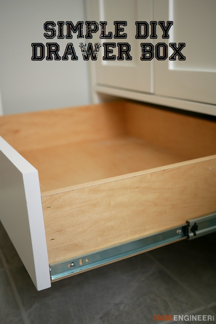 How To Build A Simple Drawer Box