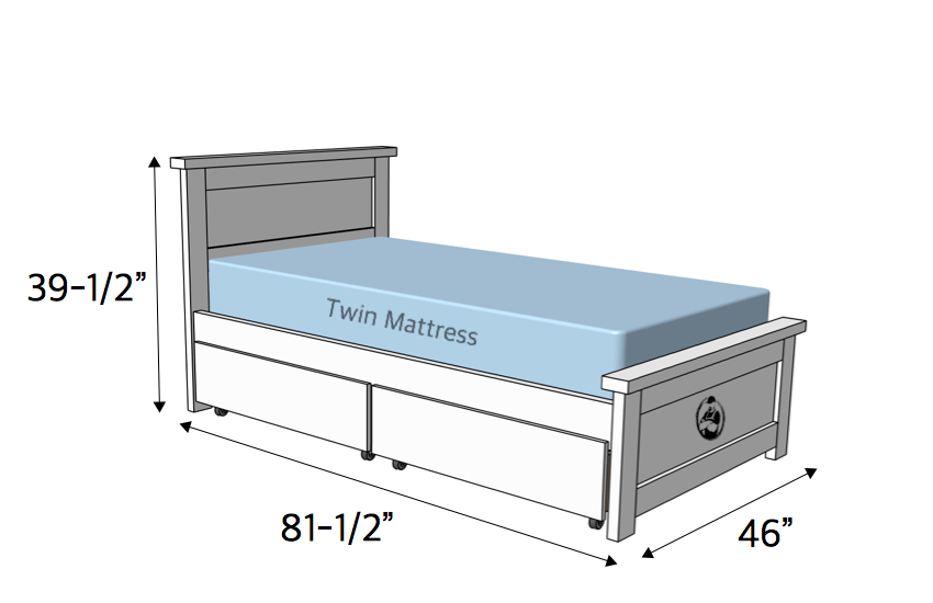 Twin Storage Bed 187 Rogue Engineer