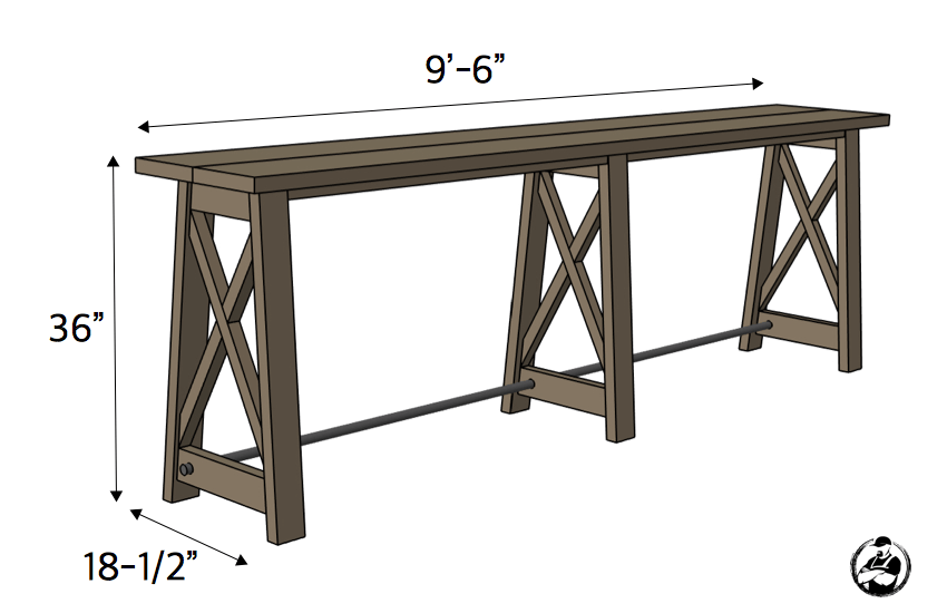 Fabulous Bar Top Console Table Rogue Engineer Machost Co Dining Chair Design Ideas Machostcouk