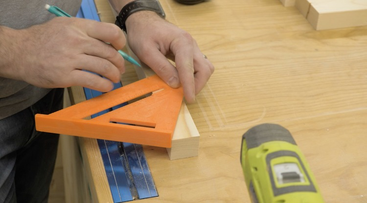 DIY Bar Top Console Table Plans Step 2