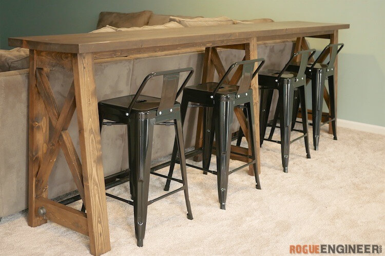 Bar Top Console Table 187 Rogue Engineer