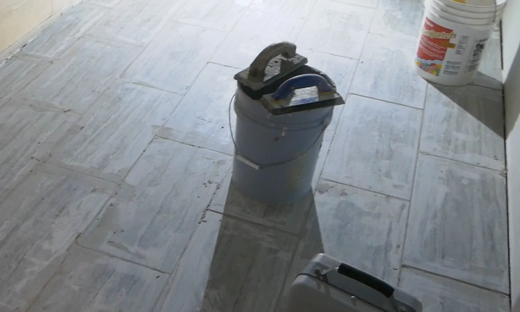 DIY Heated Tile Floor Tutorial 11