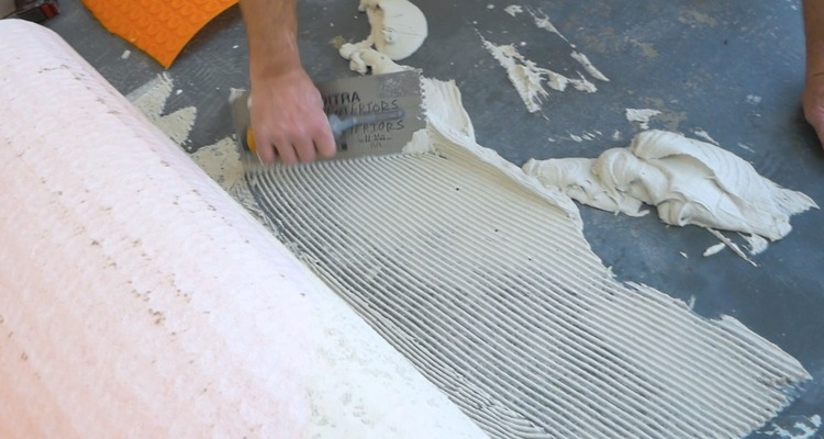 DIY Heated Tile Floor Tutorial 2
