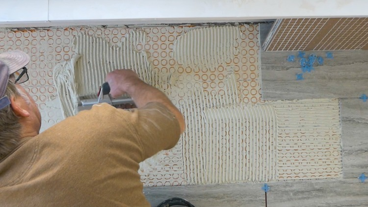 DIY Heated Tile Floor Tutorial 7