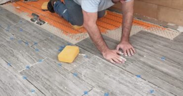 DIY Heated Tile Floor Tutorial 8
