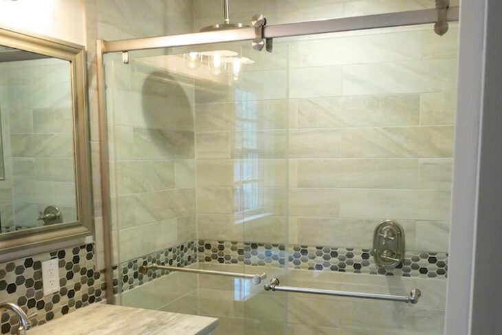 Master Shower Reno Feature
