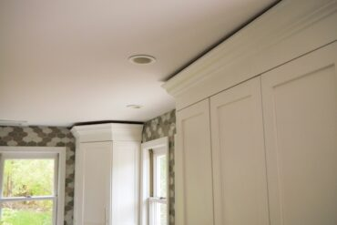 DIY Kitchen Cabinet Crown Molding