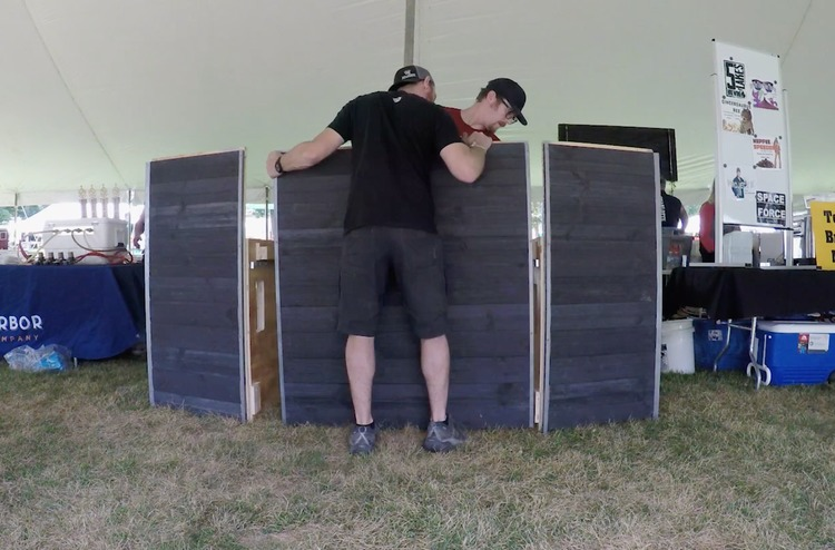DIY Portable Festival Bar Rogue Engineer22