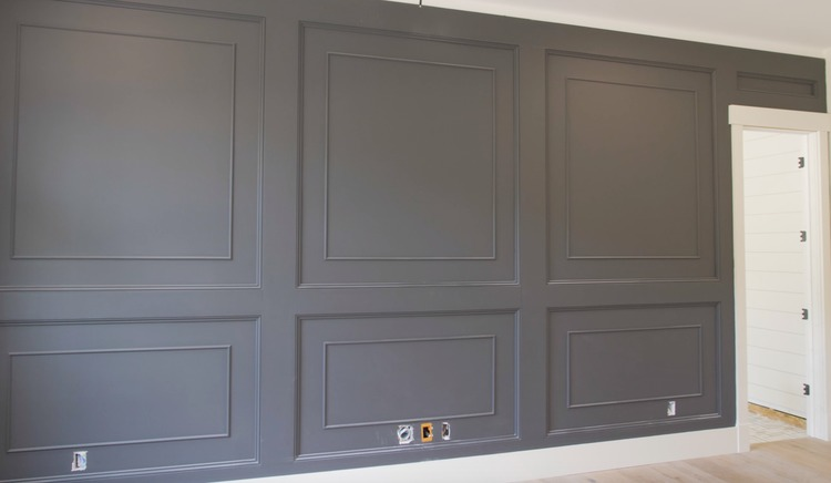 DIY Double Raised Panel Feature Wall Rogue Engineer12