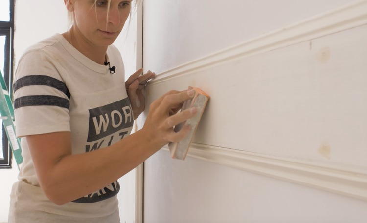DIY Double Raised Panel Feature Wall Rogue Engineer6