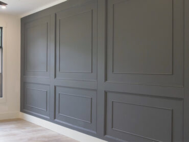 Double Raised Panel Accent Wall Feature2