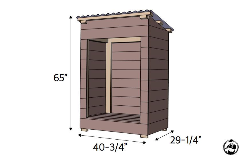 DIY Large Mail Shelter Plans Dimensions