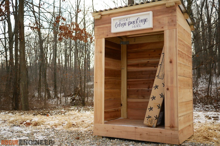 DIY Large Mail Shelter Rogue Engineer 2 1