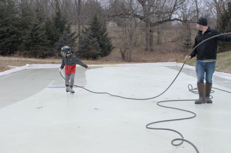 DIY Ice Rink Rogue Engineer 4