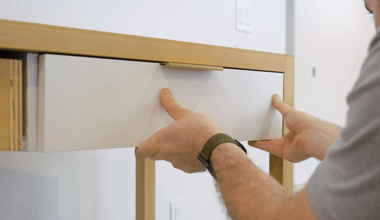 DIY Modern Changing Table Plans Step 18