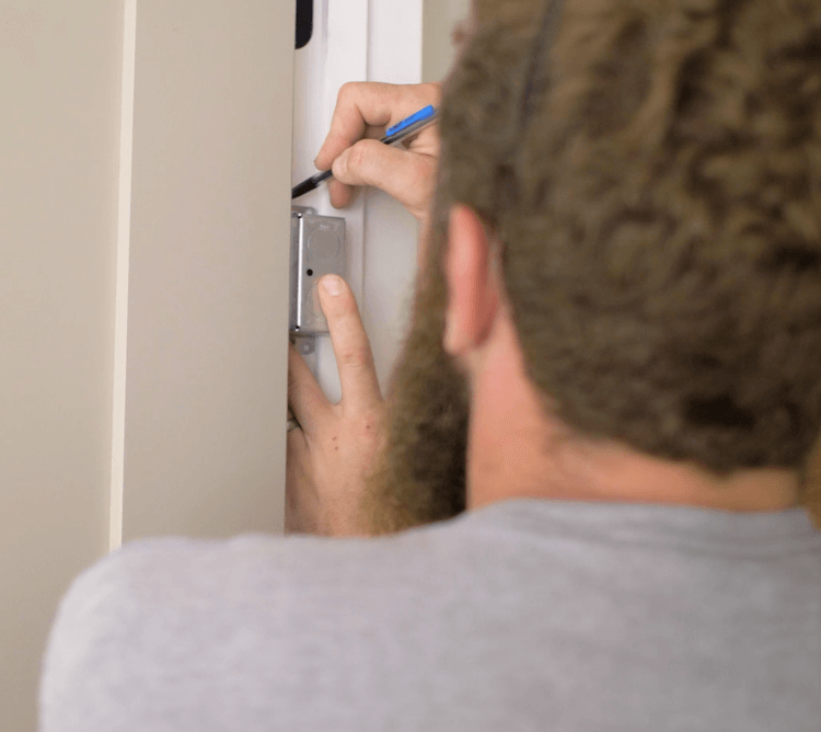 How to Install Prehung Interior Door with Jamb Switch3