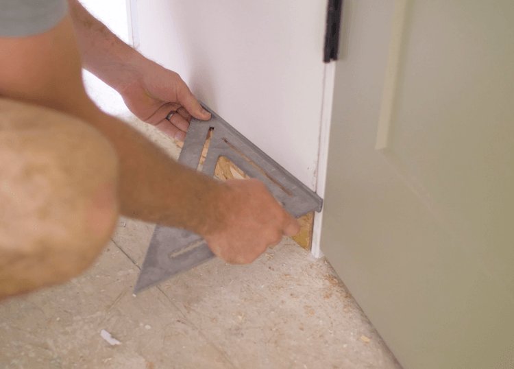 How to Install Prehung Interior Door with Jamb Switch8