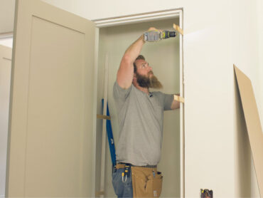 How to install a prehung door Rogue Engineer