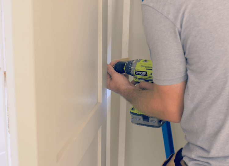 Installing a prehung door 1