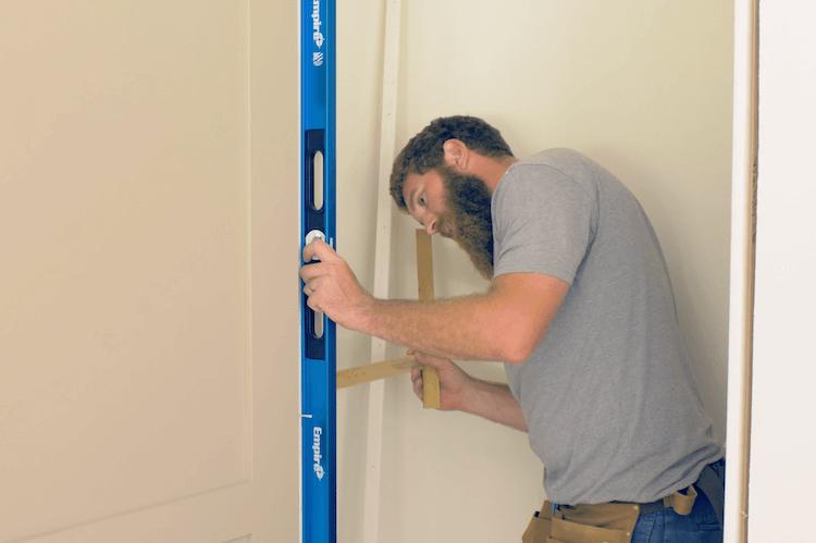 Installing a prehung door 2