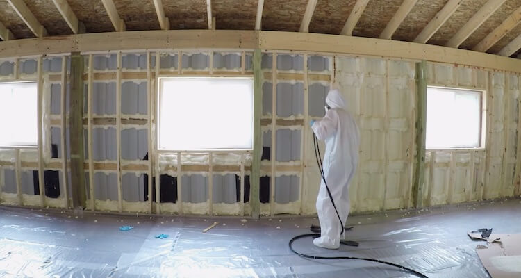 Insulating with Spray Foam Rogue Engineer 11