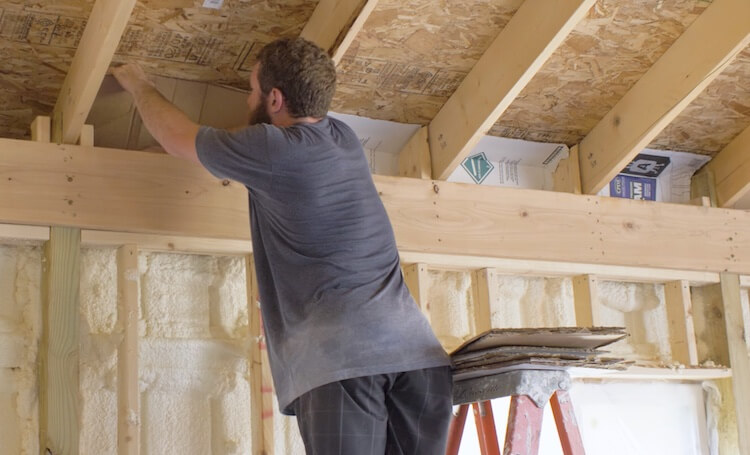 Insulating with Spray Foam Rogue Engineer 12