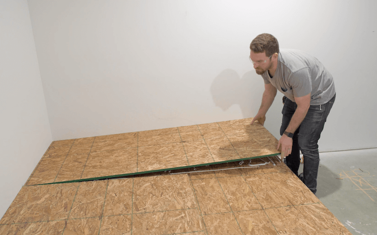 How to build a theater riser Step 10