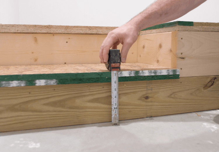 How to build a theater riser Step 11